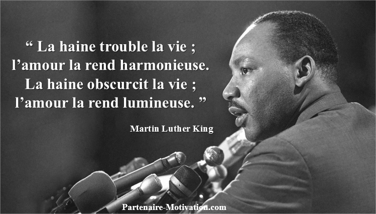 Célèbre Top 15 des citations de Martin Luther King JH59