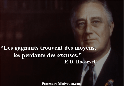 Franklin Roosevelt Top 25 Citations Motivation